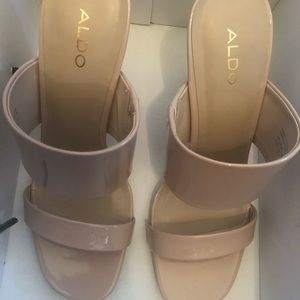 2f1f51d9597 Aldo Shoes - Also FROEMA beige heels